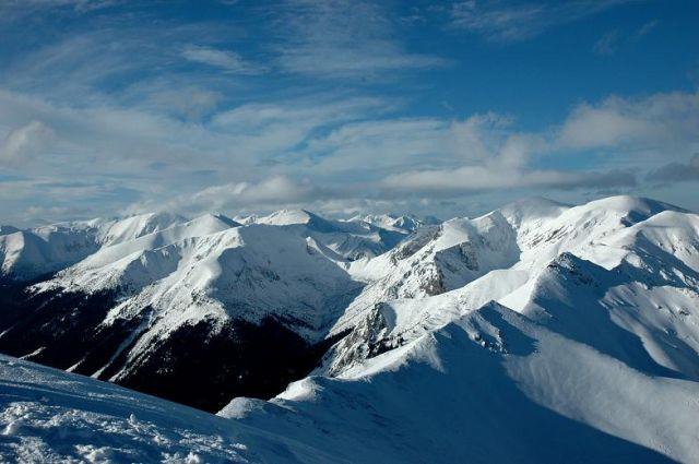 Zdjęcia: Tatry, Polska, zimą w Tatrach, POLSKA