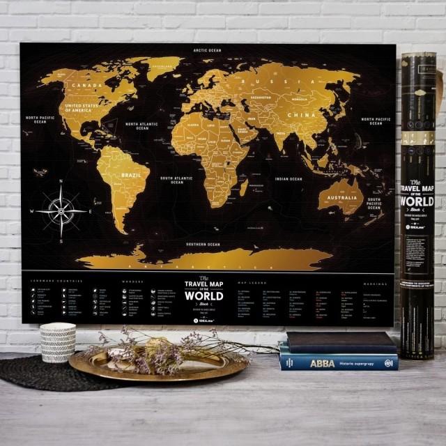 Zdjęcia: ---, ---, Prezenty dla podróżnika - mapa, POLSKA
