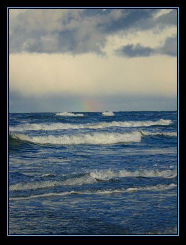 Zdjęcia: Jurata, Hel, tęcza nad Bałtykiem, POLSKA