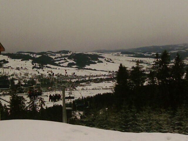 Zdj�cia: Bia�ka Tatrza�ska, Tatry, widok ze szczytu Kotelnicy, POLSKA