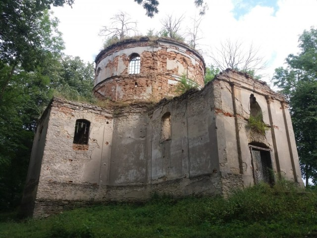Zdjęcia: Kniazie, Roztocze, Cerkiew w Kniaziach , POLSKA