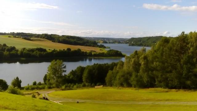 Zdjęcia: Ręboszewo, Szwajcaria Kaszubska, Jezioro Brodno Małe, POLSKA