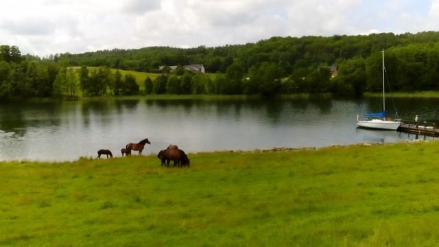 Zdjęcia: Chmielno, Szwajcaria Kaszubska, Nad jeziorem Raduńskim Dolnym, POLSKA