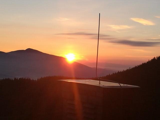 Zdjęcia: Babia Góra, Beskidy, Świt nad Babią Górą, POLSKA
