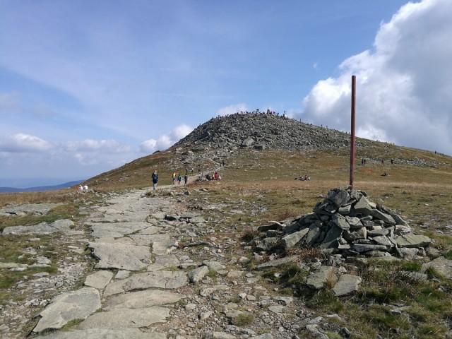 Zdjęcia: Babia Góra, Beskidy, Diablak z bliska, POLSKA
