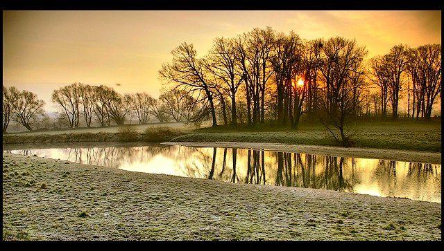 Zdjęcia: Osobłoga dopływ Odry, woj.Opolskie, wiosenne impresje, POLSKA