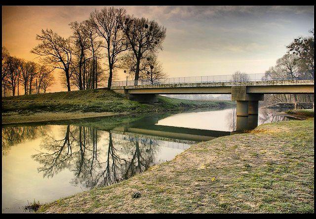 Zdjęcia: Osobłoga dopływ Odry, woj.Opolskie, wiosenne impresje 3, POLSKA