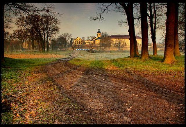 Zdjęcia: zamek Krapkowice, woj.Opolskie, wiosenne impresje 5, POLSKA