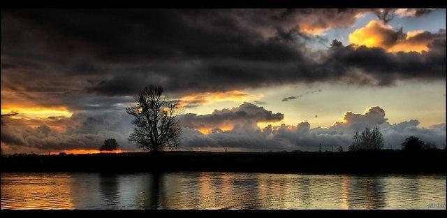 Zdjęcia: rzeka Odra, woj.Opolskie, zachód , POLSKA
