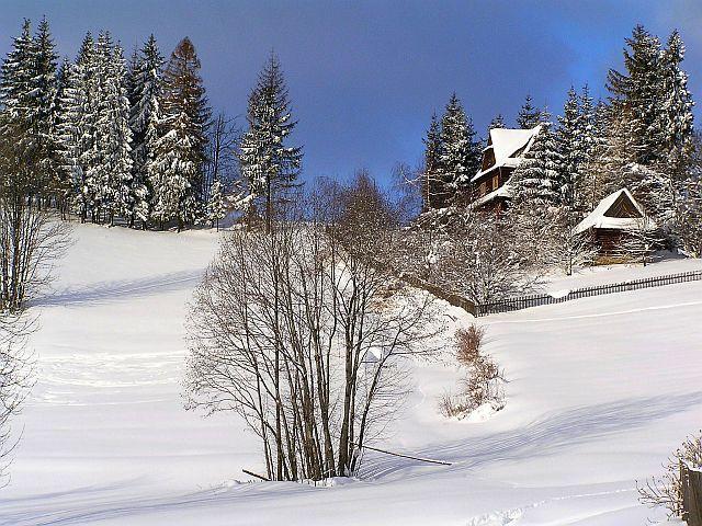 Zdj�cia: Bukowina Tatrza�ska, W zimowej szacie, POLSKA