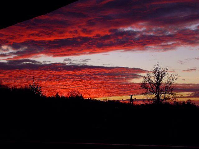 Zdjęcia: z mojego okna, chmury, POLSKA