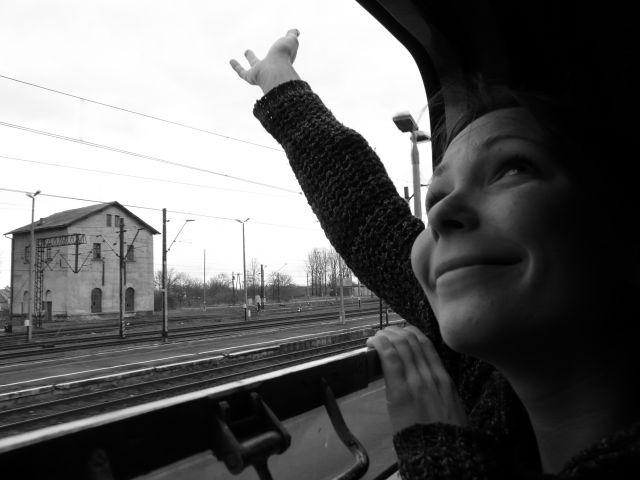 Zdjęcia: w osobowym na trasie Rzeszów-Przemyśl, podkarpackie, Na Ukrainę!, POLSKA