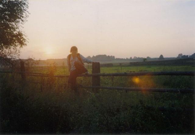 Zdjęcia: gdzieś..., Podlasie, Zachód słońca nad Podlasiem, POLSKA