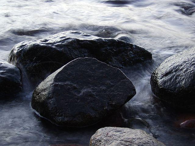 Zdj�cia: Gdynia Or�owo, Pomorze, Troch� wody i kamieni, POLSKA