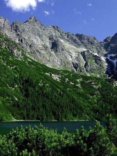 Zdjęcia: w drodze do Morskiego Oka, Tatry, W Tatrach, POLSKA