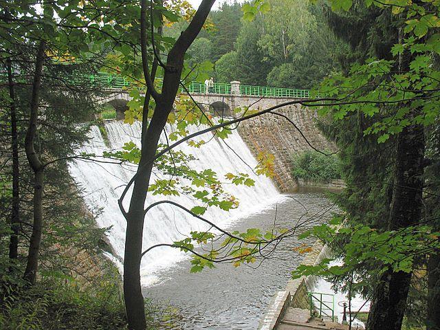 Zdjęcia: Karpacz, Kotlina Jeleniogórska, Zapora, POLSKA