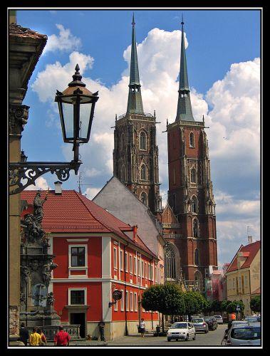 Zdjęcia: Wrocław, Widok na katedre, POLSKA