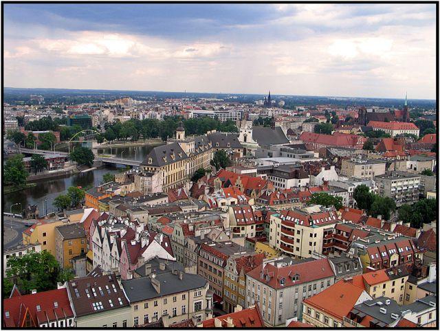 Zdjęcia: Wrocław, Panorama, POLSKA
