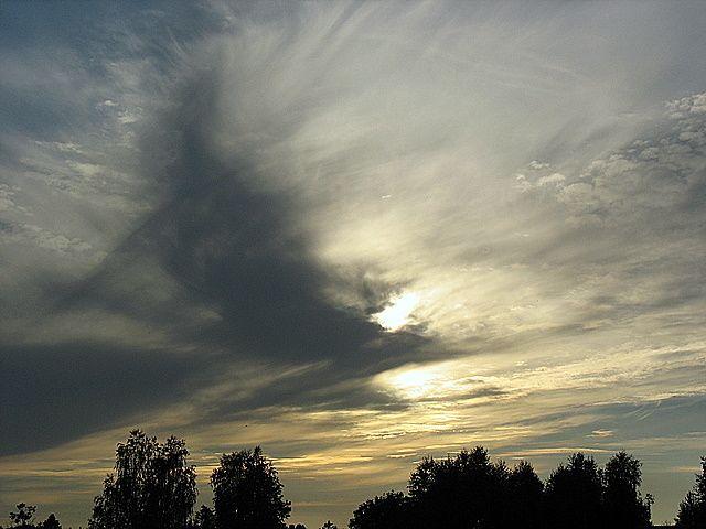 Zdjęcia: Niebo nad Mazowszem, Centralna Polska, Czarne zawirowania, POLSKA