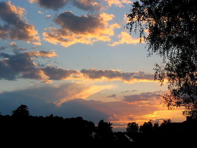 Zdjęcia: Niebo nad Mazowszem, Centralna Polska, W kolorach, POLSKA