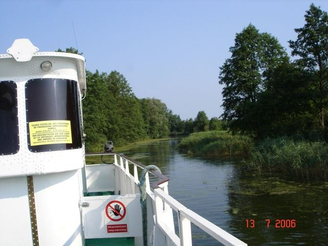 Zdjęcia: Kanał Ostródzki, Mazury, Na wodnym szlaku, POLSKA