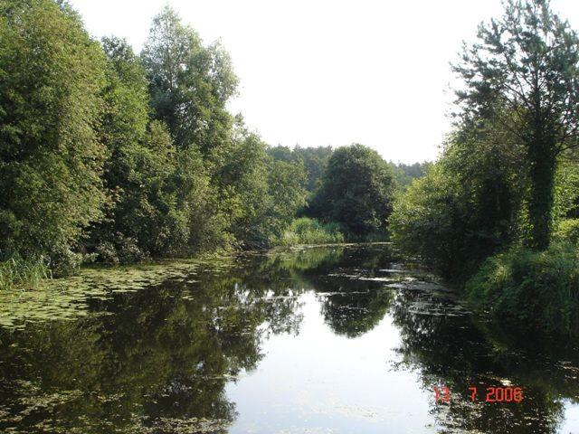 Zdj�cia: Kana� Ostr�dzki, Mazury, Na wodnym szlaku, POLSKA