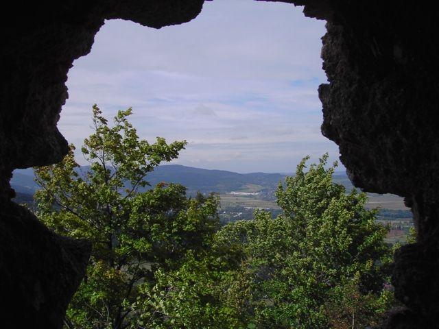 Zdjęcia: Jelenia Góra -Sobieszów, Dolny Śląsk, Widok z zamku Chojnik, POLSKA
