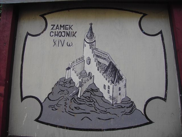 Zdj�cia: Jelenia G�ra -Sobiesz�w, Dolny �l�sk, Zamek Chojnik, POLSKA