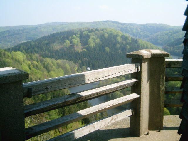 Zdjęcia: Zagórze Śląskie, Dolny Śląsk, Widok z zamku Grodno, POLSKA