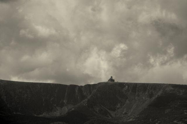 Zdjęcia: Widok z Bobrowych Skałek, Dolny Śląsk, Śnieżne Kotły, POLSKA
