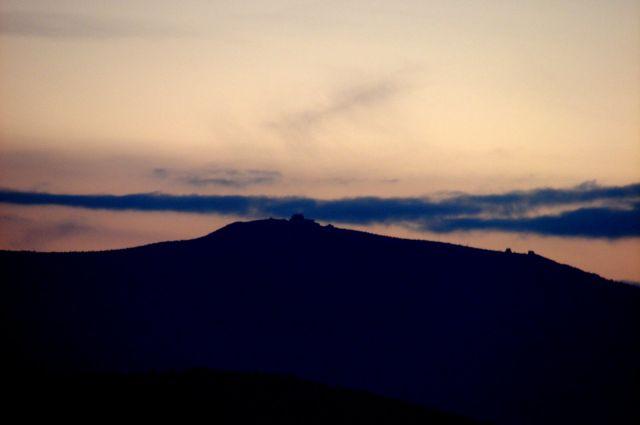Zdjęcia: Zrobione z Jeleniej Góry, Dolny Śląsk, Szrenica, POLSKA