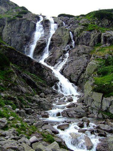 Zdjęcia: Dolina Roztoki, Tatry, Siklawa, POLSKA