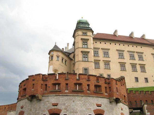 Zdjęcia: Kraków, Wawel-Kurza Stopka i  wieża Zygmunta III, POLSKA