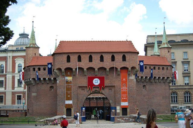 Zdjęcia: Kraków, Małopolska, Barbakan, POLSKA
