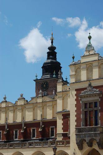 Zdjęcia: Kraków, Małopolska, Sukiennice i Wieża Ratuszowa, POLSKA