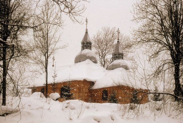 Zdjęcia: Olchowiec, Beskid Niski, Na cerkiewnym wzgórzu, POLSKA