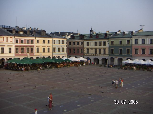 Zdjęcia: Rynek, Zamość, POLSKIE KRAJOBRAZY, POLSKA