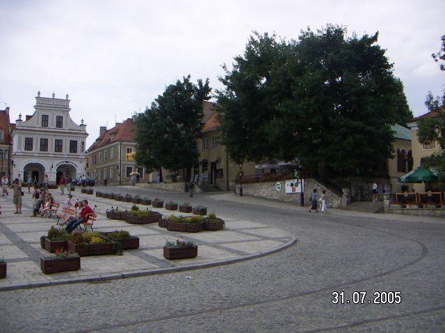 Zdjęcia: rynek, Sandomierz, POLSKIE KRAJOBRAZY, POLSKA