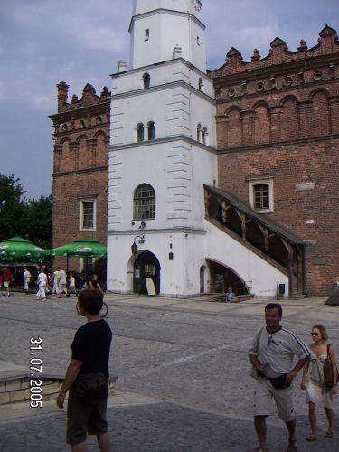 Zdjęcia: ratusz od nieznanej strony, Sandomierz, POLSKIE KRAJOBRAZY, POLSKA