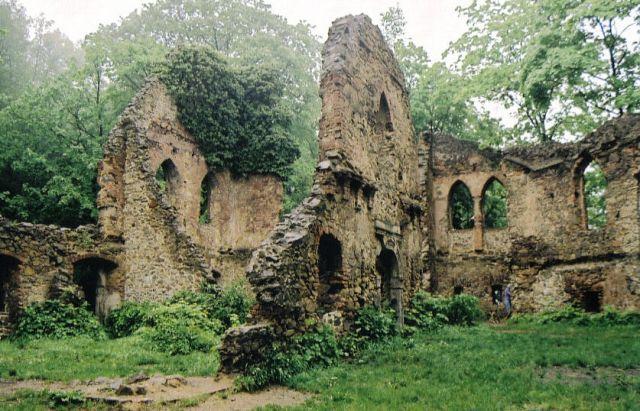 Zdjęcia: stary Książ, Dolny Śląsk, zamcze ruiny, POLSKA