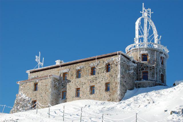 Zdjęcia: Tatry, Stacja meteo na Kasprowym Wierchu, POLSKA