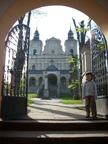 Zdjęcia: Radecznica, Roztocze., U bramy, POLSKA