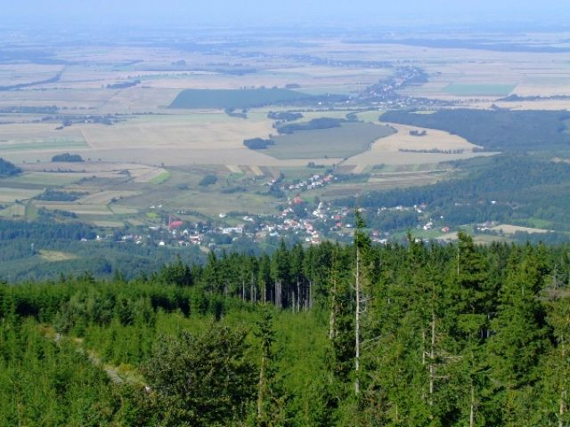 Zdj�cia: Biskupia Kopa, G�ry Opawskie, Widok z Biskupiej K., POLSKA
