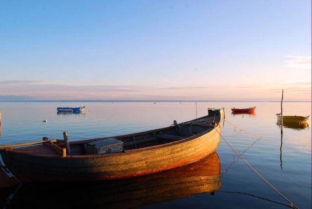 Zdjęcia: zatoka, Jastarnia, zdjęcie z cyklu łódki nad zatoką :), POLSKA