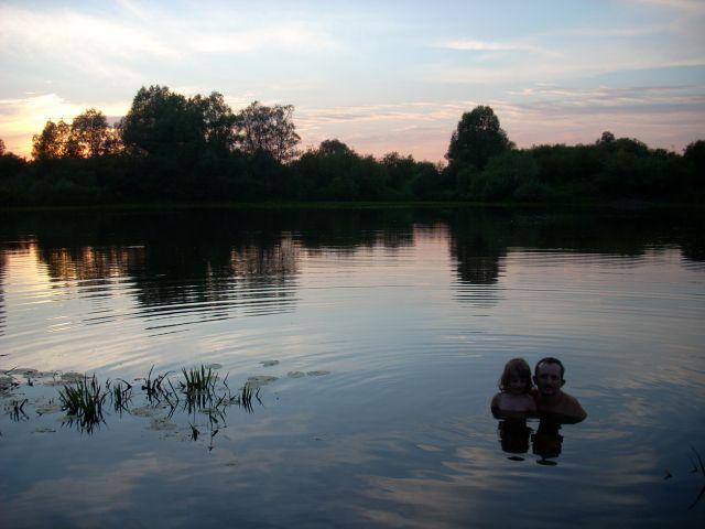 Zdjęcia: Kamieńczyk, Nadburzanski Park Krajobrazowy, W kąpieli, POLSKA