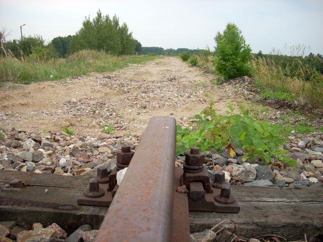 Zdj�cia: Treblinka., Nadburzanski Park Krajobrazowy, Zlikwidowana linia kolejowa., POLSKA