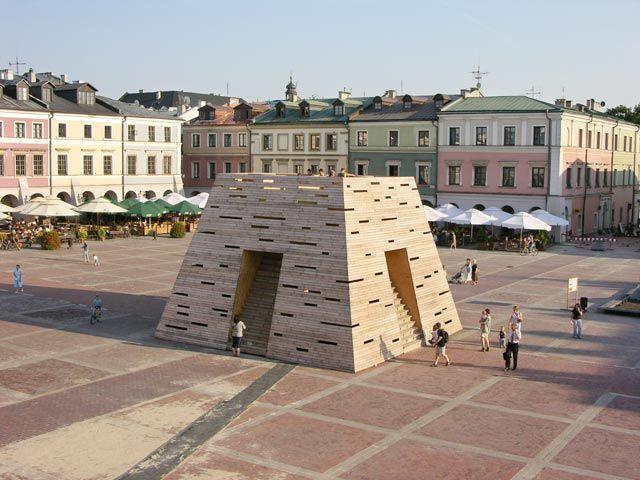 Zdjęcia: Zamość, Piramida, POLSKA