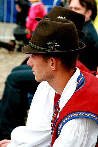 Zdjęcia: Krosno, Podkarpacie, Na rynku, POLSKA