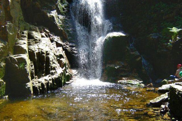 Zdjęcia: Wodospad Kamieńczyk 8.06. godz12,30, Karkonosze, Światło na scenę, POLSKA