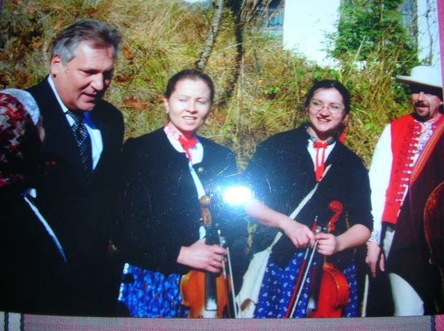 Zdjęcia:  Pan Prezydent też tam był, Istebna, Zima w Beskidach, POLSKA